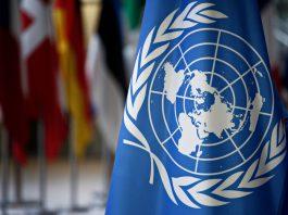 U.N, flag (