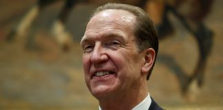 David Malpass smiling (© Evan Vucci/AP Images)
