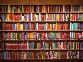 Shelves full of books (© Shutterstock)