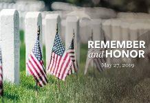 今年的5月27日是阵亡将士纪念日,下午3时整,人们会默哀一分钟,向为国捐躯的军人致敬。(退伍军人部网站推特网页)
