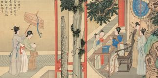 Artwork depicting lives of Chinese empresses (© The Palace Museum)