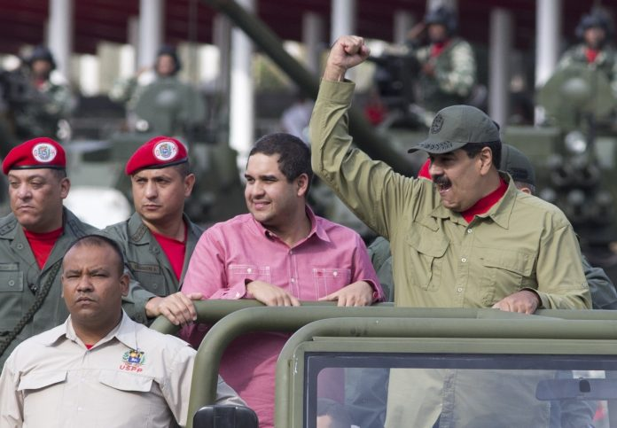 Nicolas Maduro, Nicolas Maduro Guerra (© Ariana Cubillos/AP Images)