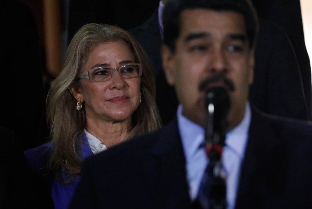 Николас Мадуро и Силия Флорес ( © Ariana Cubillos/AP Images)