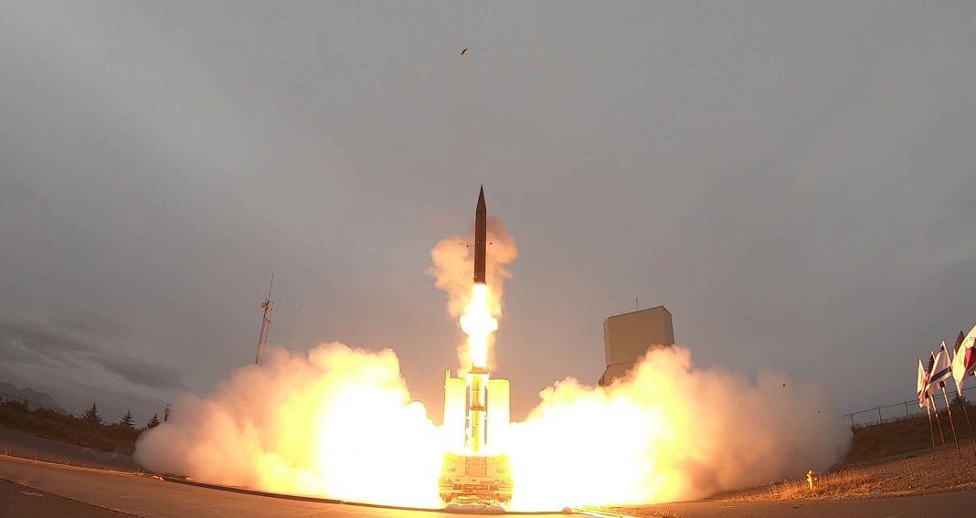 导弹发射(美国国防部)