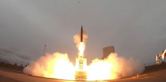 Missile being launched (Dept. of Defense)