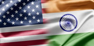U.S. and Indian flags (© Shutterstock)