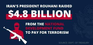 Iran's president raided from National Development Fund (Source: Treasury Dept.)