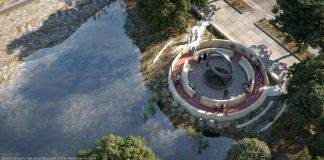 Artist's rendering of new memorial (Smithsonian's National Museum of the American Indian)