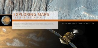 Part of poster on exploring Mars (State Dept.)