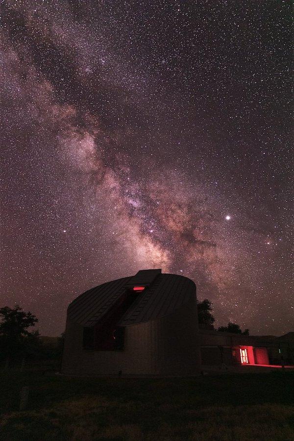 公园里的天文台