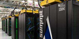 The Summit, a scientific supercomputer (Oak Ridge National Laboratory/Carlos Jones)
