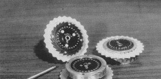恩尼格玛密码机的转子(来源:Wikimedia Commons)