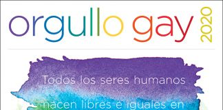 Póster Mes del Orgullo Gay (Depto. de Estado/D. Hamill)