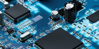 Stock image of an electronic circuit board (© Shutterstock)