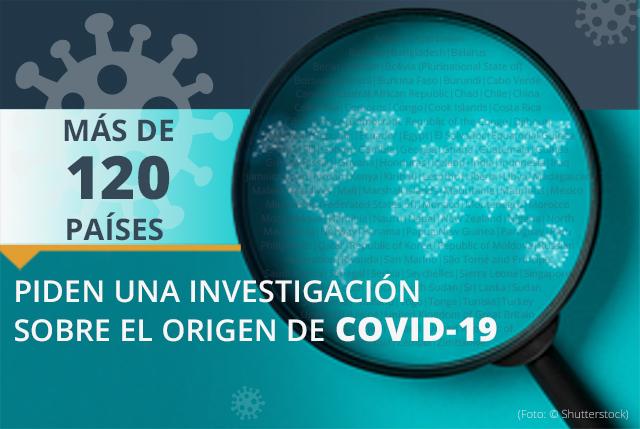 Más de 120 países piden una investigación del origen de COVID-19. (Depto. de Estado/M. Rios)