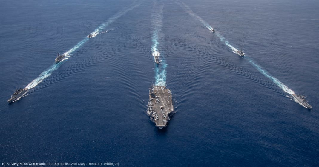U.S. and Indian Navy ships (U.S. Navy/Mass Communication Specialist 2nd Class Donald R. White, Jr)
