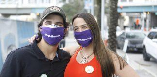 新奥尔良选民鼓励大家参与投票(照片:美联社)