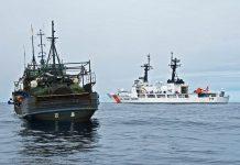 Dois navios no oceano (Guarda Costeira dos EUA/Suboficial Jonathan R. Cilley)