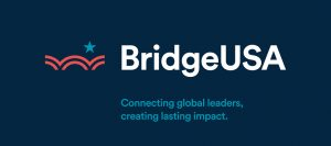 Graphic saying 'BridgeUSA: Connecting global leaders, creating lasting impact' (State Dept.)