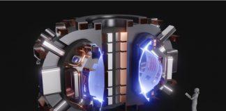 MIT/SPARC高温超导核聚变反应堆堆芯环形磁场截面示意图(来源:CFS/MIT-PSFC;模拟图作者:T. Henderson)