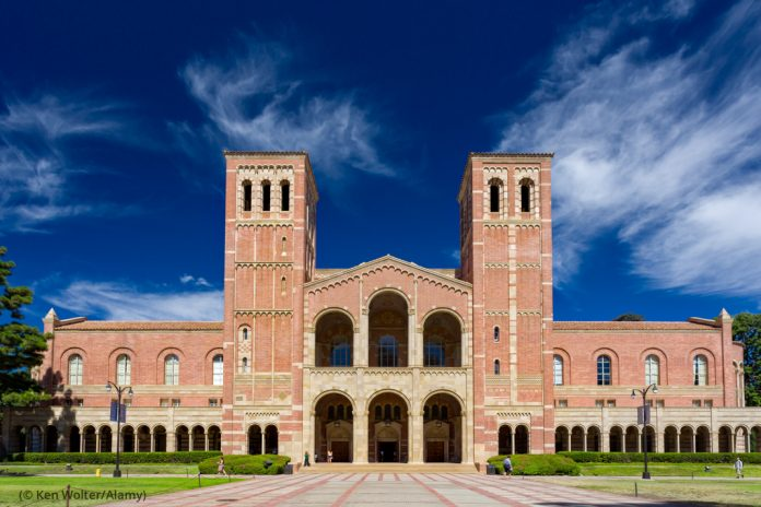 Royce Hall on the campus of UCLA (© Ken Wolter/Alamy)