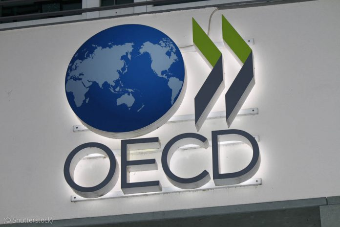 Organisation for Economic Co-operation and Development logo (© Shutterstock)
