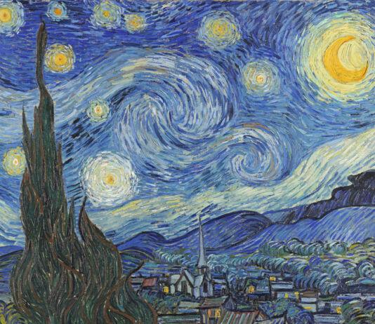 """Pintura de Vincent van Gogh """"A Noite Estrelada"""" (© Art Images/Getty Images)"""