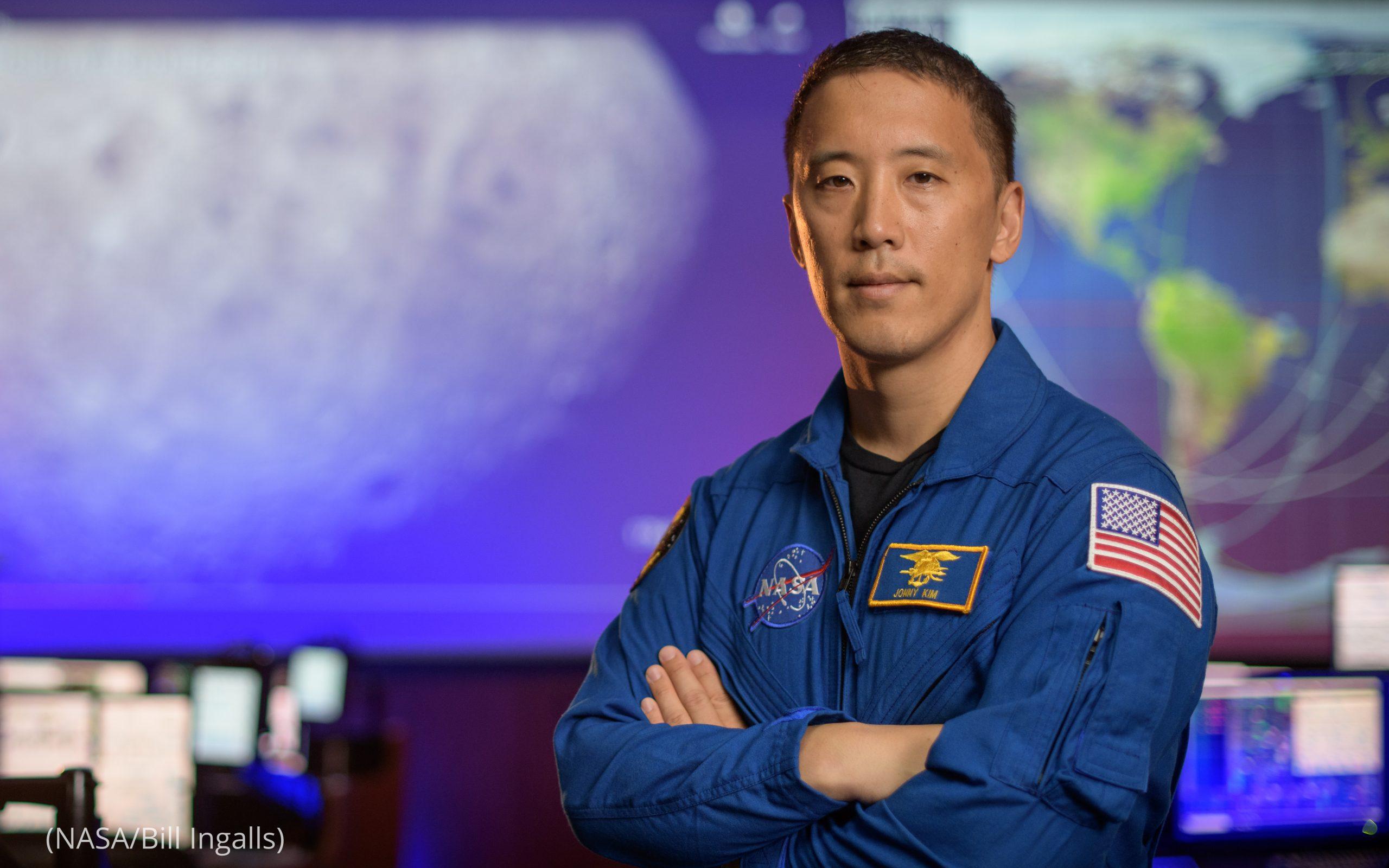 NASA astronaut Jonathan Kim posing for photo (NASA/Bill Ingalls)