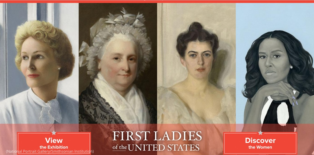 Portraits of four women (National Portrait Gallery/Smithsonian Institution)