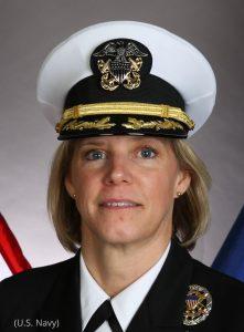 Portrait of Amy Bauernschmidt (U.S. Navy)