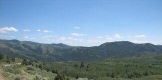 爱达荷州一处私有土地(照片:美联社)