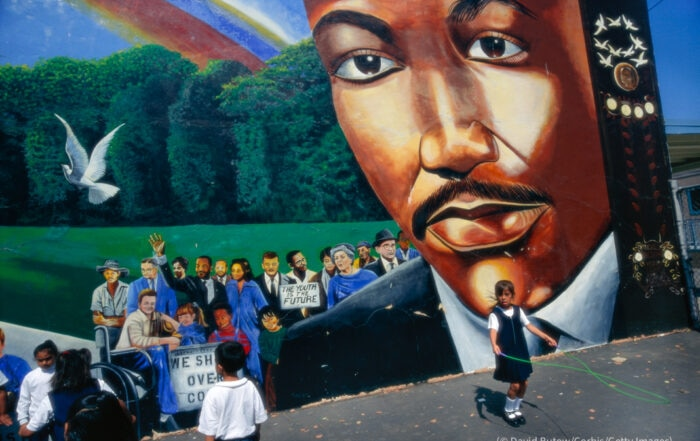 In the U.S., dozens of schools are named after civil rights activist Martin Luther King Jr. Learn how three of them embody his teachings all year.