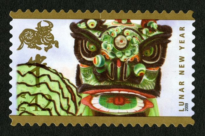2009牛年生肖邮票(美国邮政总局)