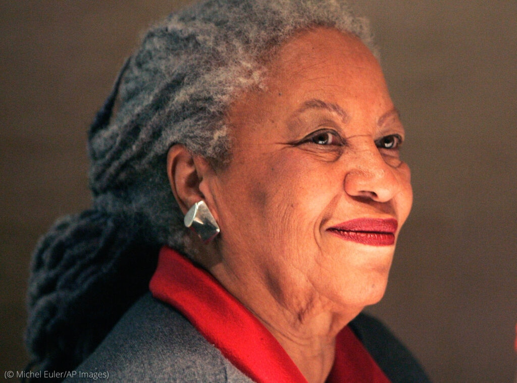 Headshot of Toni Morrison (© Michel Euler/AP Images)