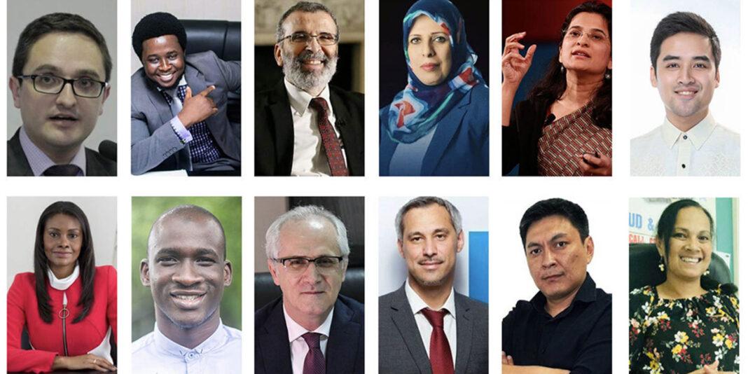 Retratos de 12 homens e mulheres (Depto. de Estado)