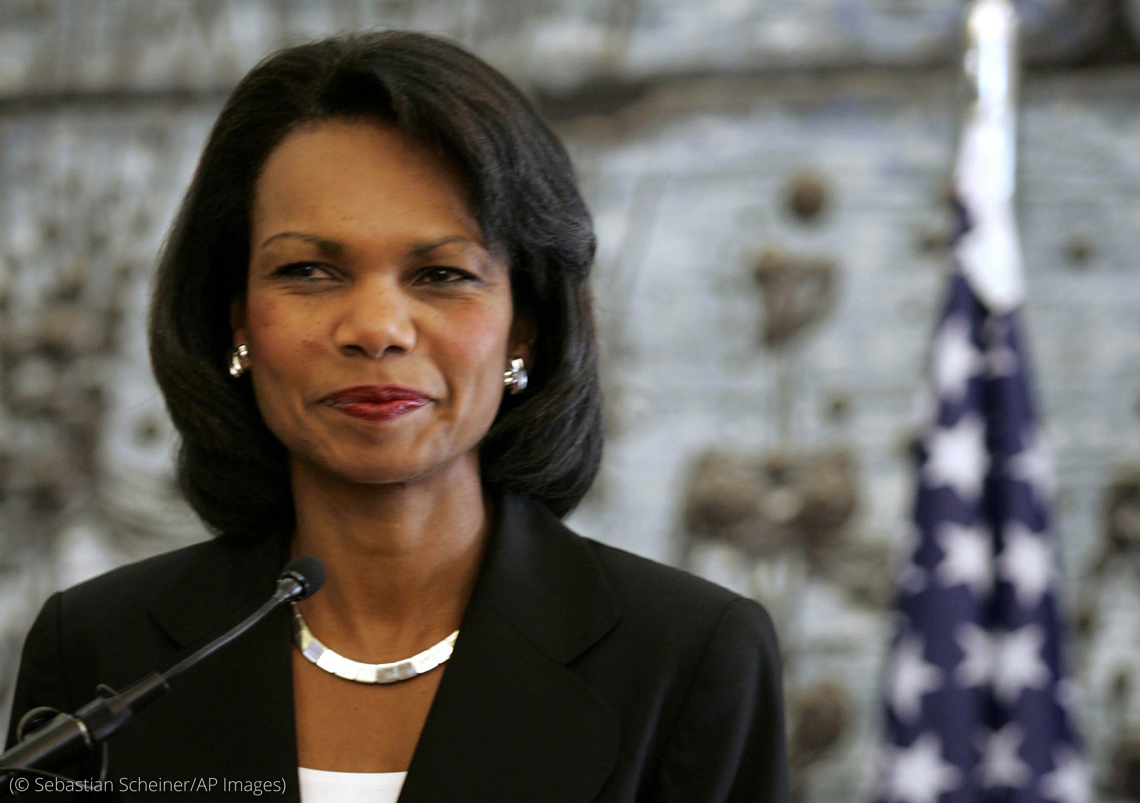 Condoleezza Rice (© Sebastian Scheiner/AP Images)