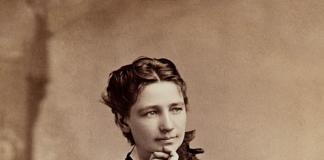 1860年代的维多利亚·伍德哈尔(照片:公有领域)