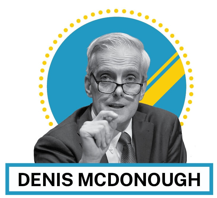 Denis McDonough (© AP Images and Shutterstock)