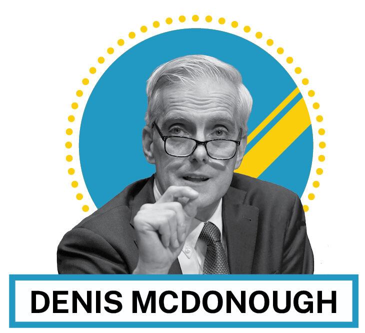 Portrait de Denis McDonough (© AP Images et Shutterstock)