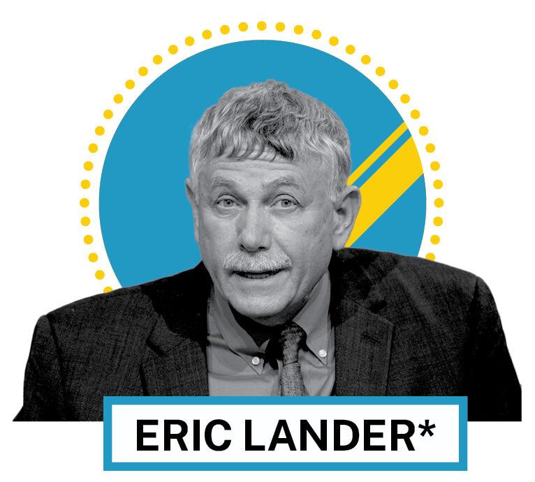 Eric Lander (© AP Images and Shutterstock)