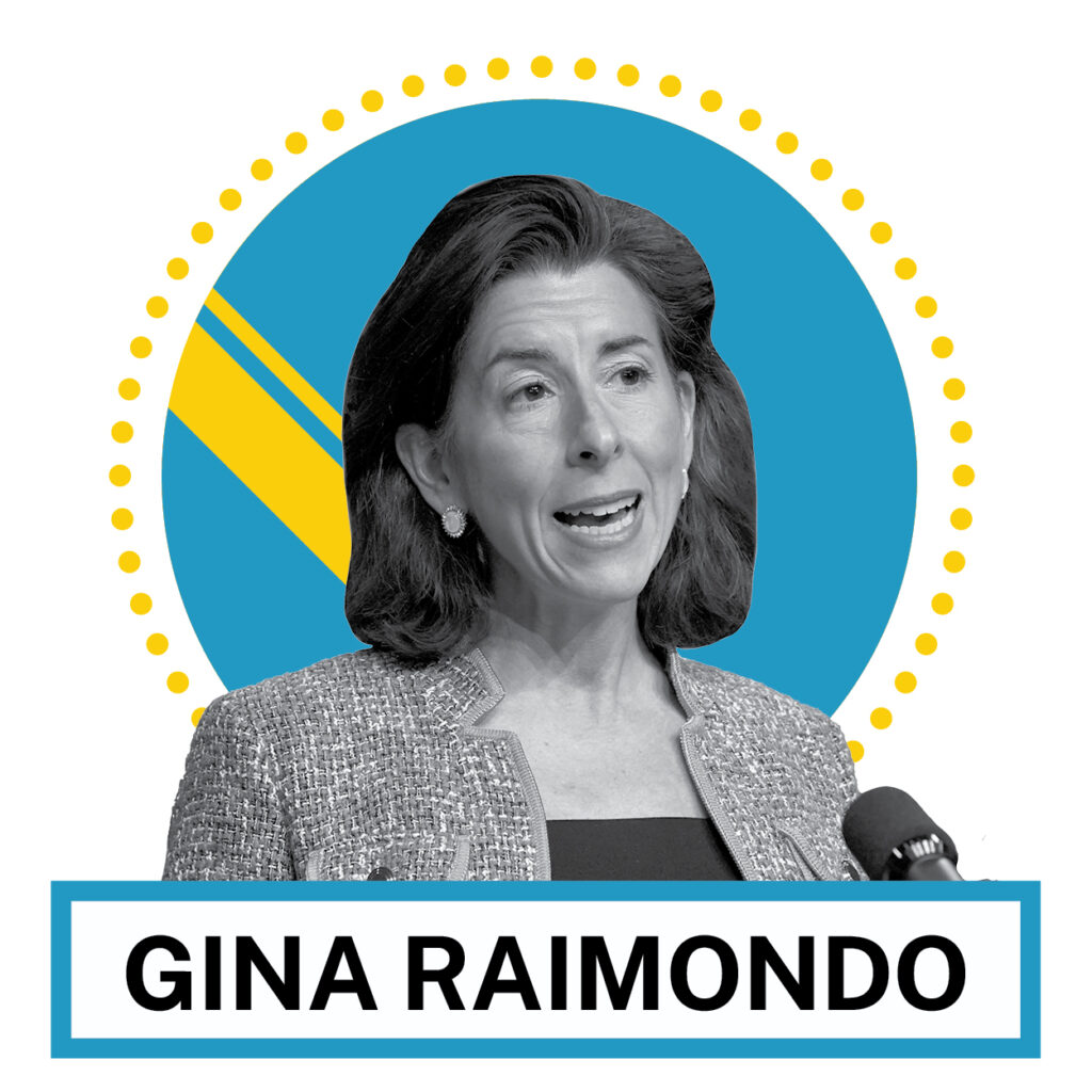 Gina Raimondo (© AP Images and Shutterstock)