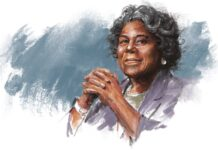 Illustration of Linda Thomas-Greenfield (State Dept./D. Thompson)