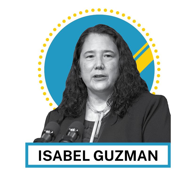 Portrait d'Isabel Guzman (© AP Images et Shutterstock)