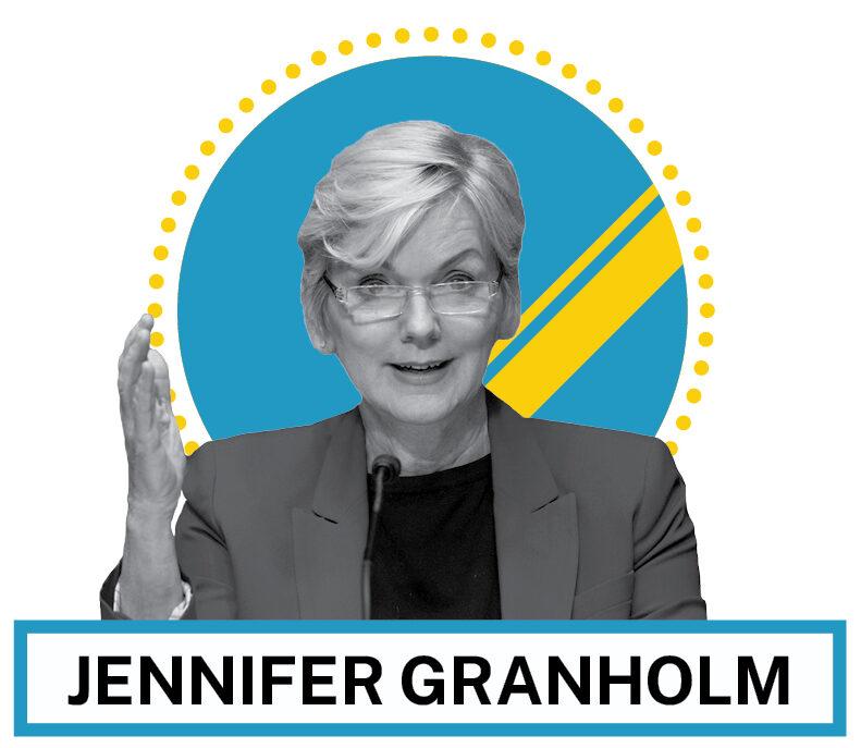 Jennifer Granholm (© AP Images and Shutterstock)