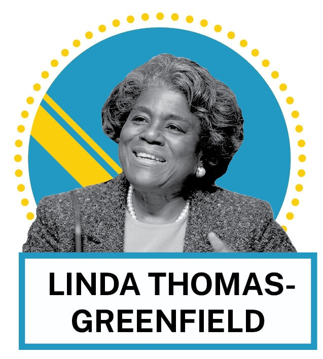 Linda Thomas-Greenfield (© AP Images and Shutterstock)