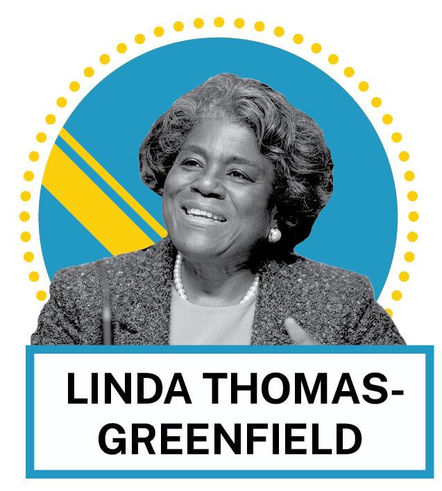 Portrait de Linda Thomas-Greenfield (© AP Images et Shutterstock)