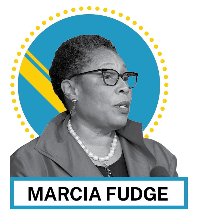 Marcia Fudge (© AP Images and Shutterstock)