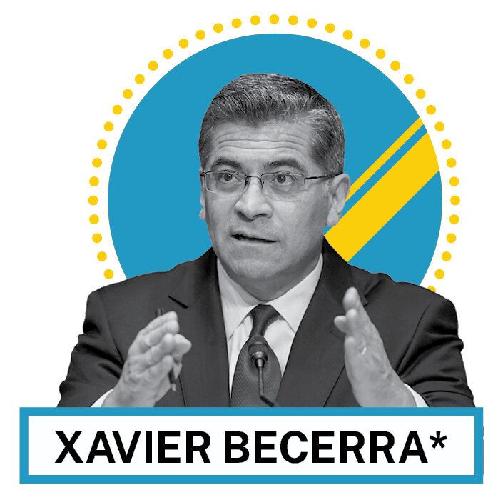 Xavier Becerra (© AP Images and Shutterstock)