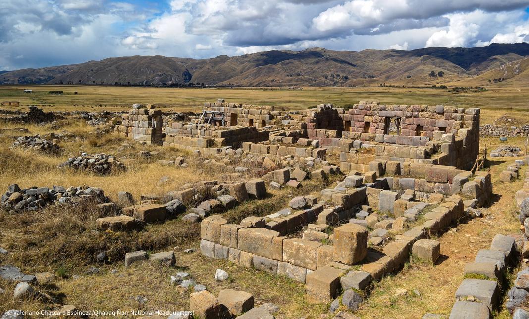 Ruinas de un antiguo templo (© Valeriano Chaccara Espinoza/Qhapaq Ñan-Sede Nacional)