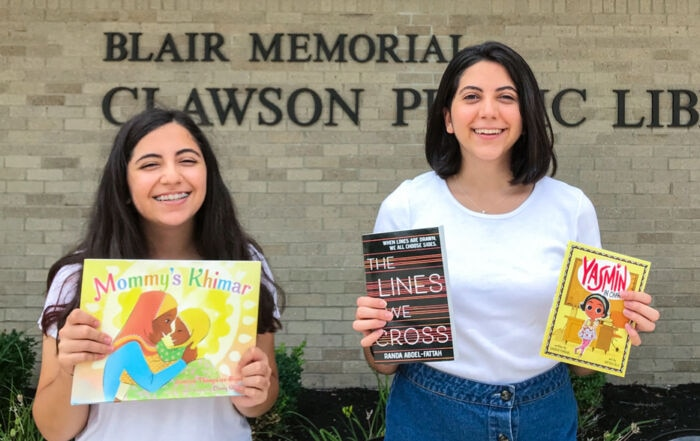 Teen sisters donate books that give voice to Muslim girls